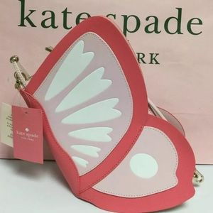 Kate spade enchanted forest butterfly crossbody